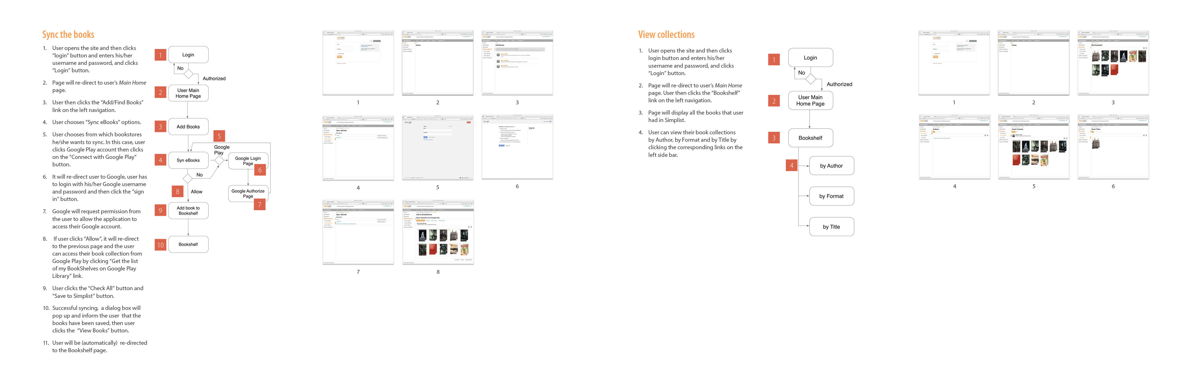 Storyboards and Wireframes