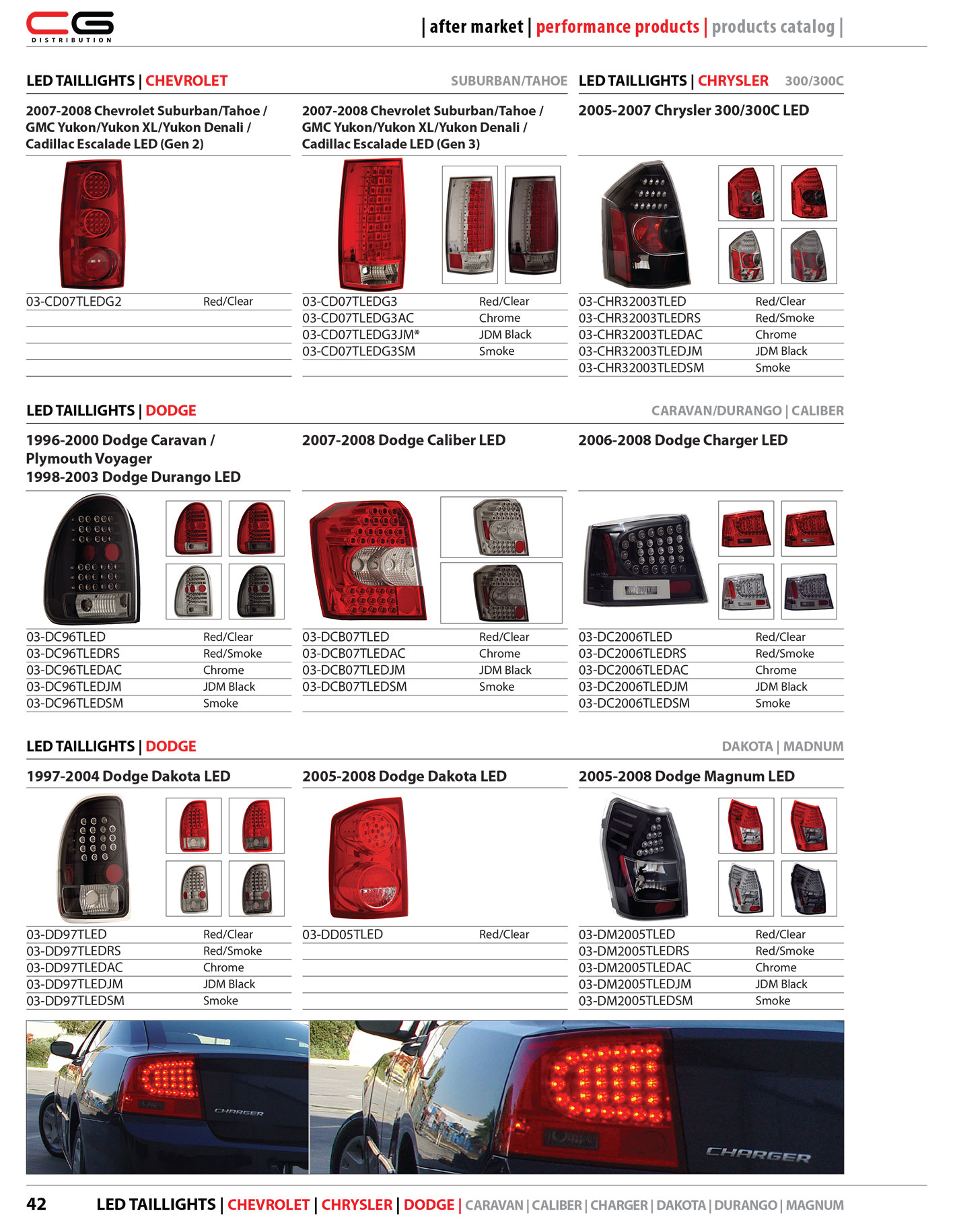42 Led Taillights