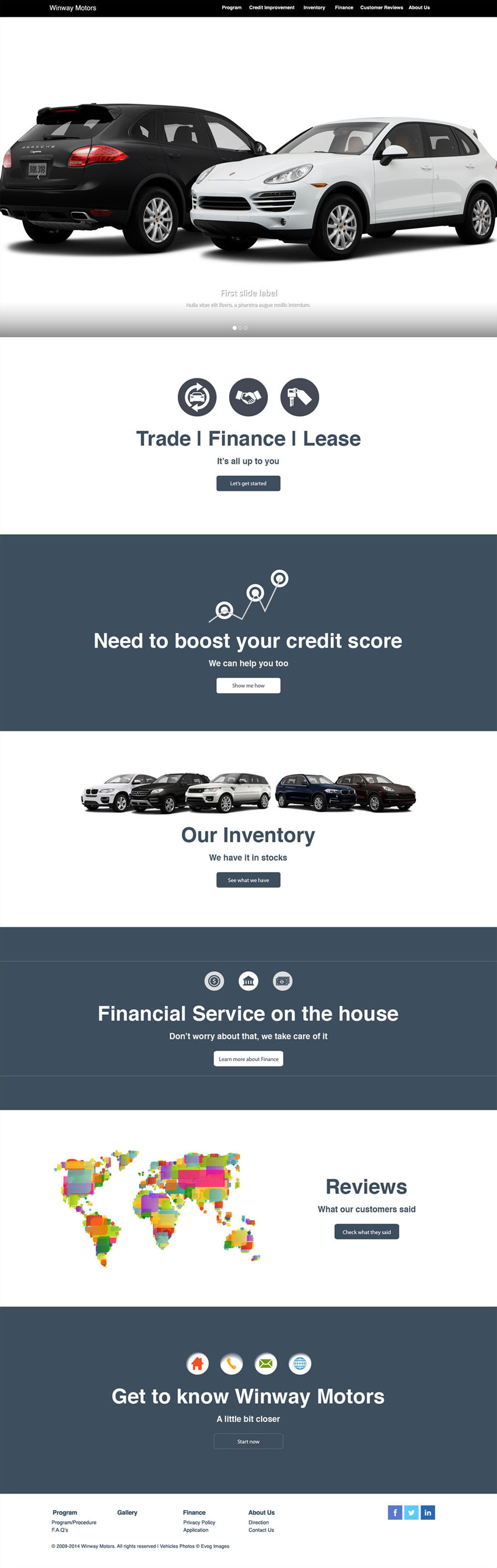 Winway Website Prototype 1